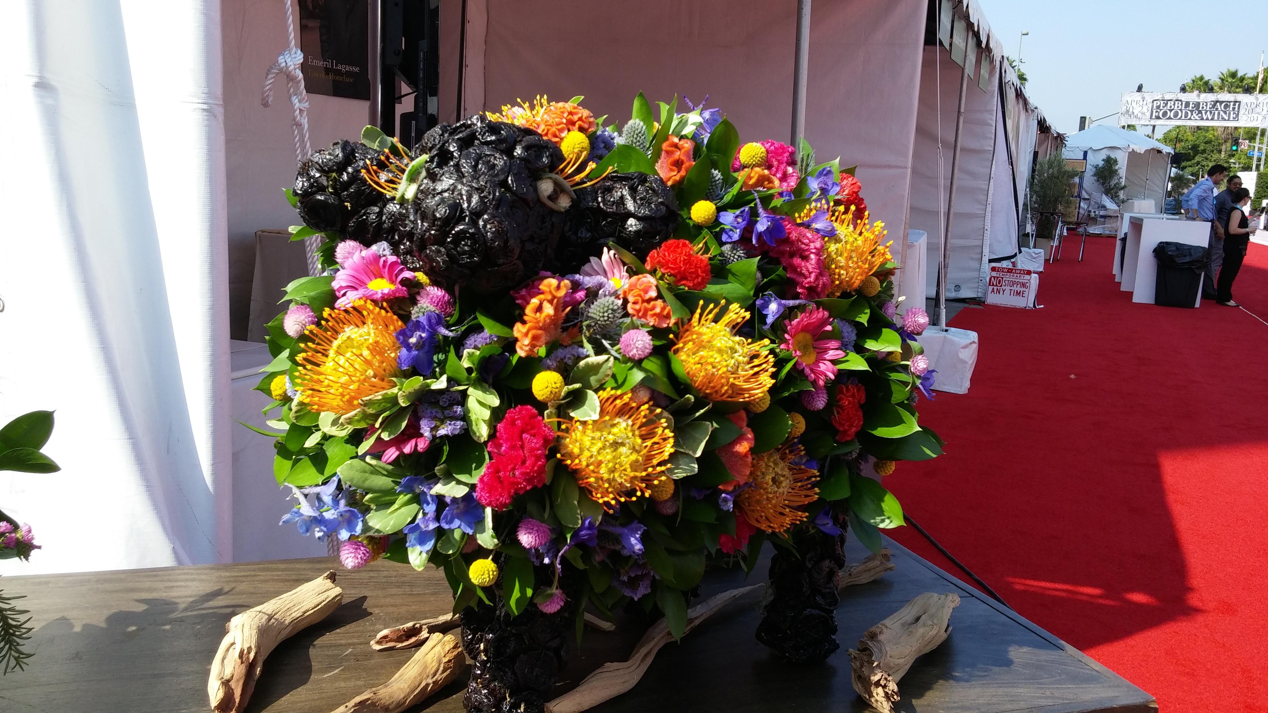 flowerduet-lafoodshowlamb