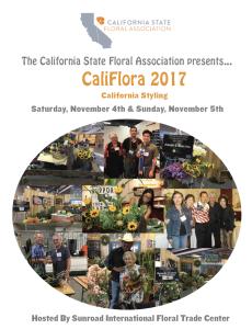 CaliFlora 2017